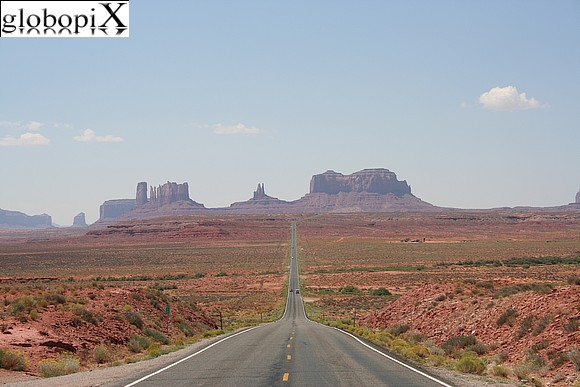 Monument Valley - Monument Valley - Highway 163