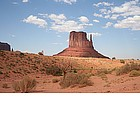 Foto: West Mitten nella Monument Valley