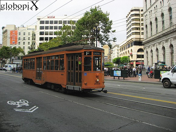 San Francisco - Tram milanese a San Francisco