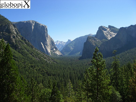 Yosemite - Tunnel View