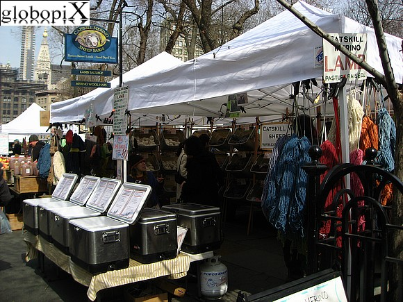 New York - Union Square - Greenmarket