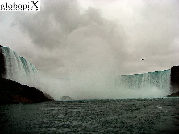 Niagara Falls - View from Maid of the Mist