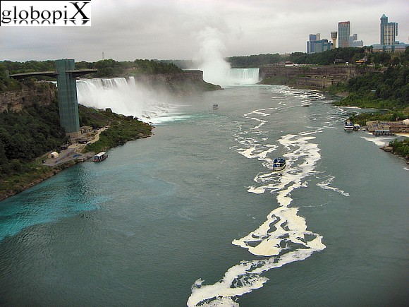 Niagara Falls - View from Rainbow Bridge