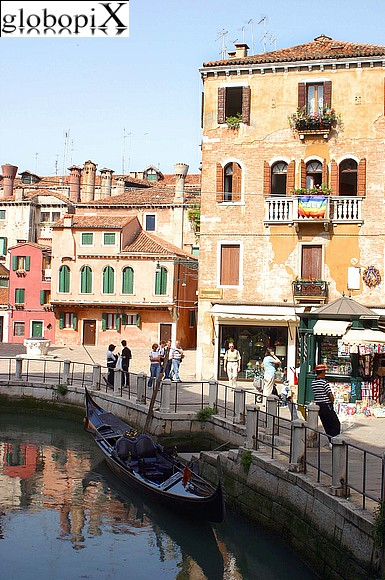 Venice - Canals and passages of Cannaregio