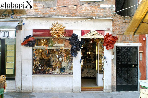 Venice - Mask shop in Cannaregio