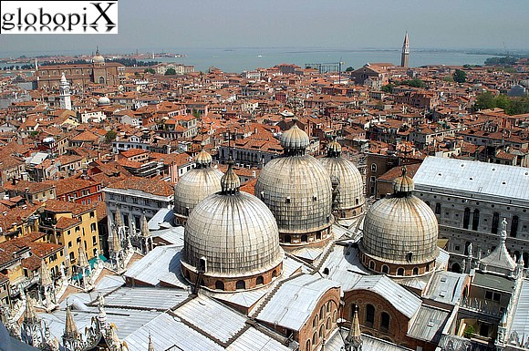 Venice - Panorama from the Campanile di San Marco