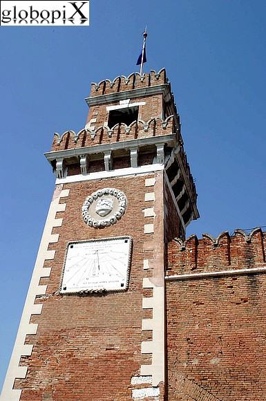 Venice - The Arsenale di Venezia