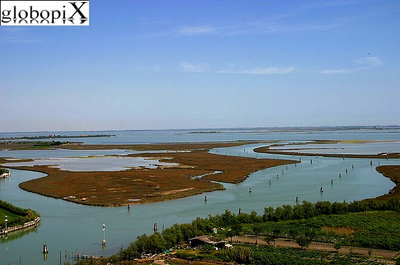 Laguna di Venezia - View from the bell tower of S. Maria Assunta